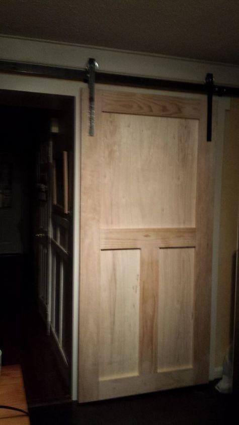 Outstanding How To Build A Pantry Barn Door Hometalk Home Interior And Landscaping Oversignezvosmurscom