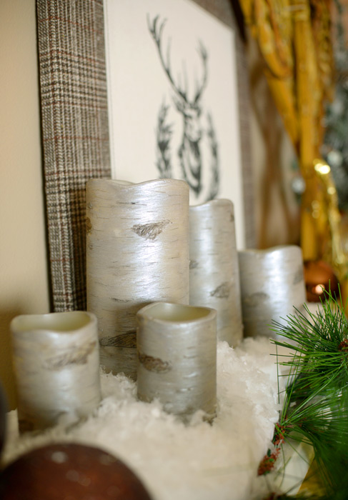 candles home decor. pottery barn knockoff diy birch candles  christmas decorations crafts seasonal holiday decor Pottery Barn DIY Hometalk
