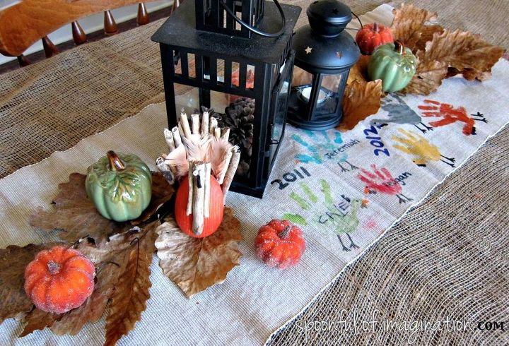 table craft diy thanksgiving table runner hometalk