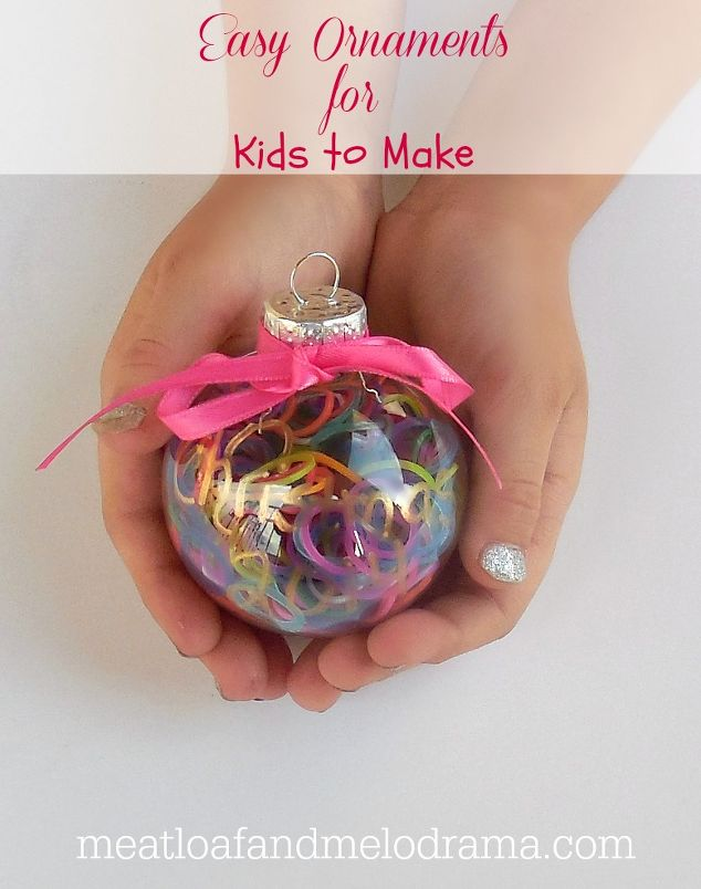 easy personalized ornaments for kids christmas decorations crafts seasonal holiday decor