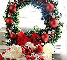 Diy Holiday Wreath Under 20 Dollars, Christmas Decorations, Crafts,  Seasonal Holiday Decor,