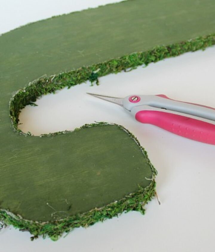 how to make moss joy letters, christmas decorations, crafts, how to, seasonal holiday decor