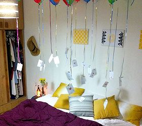 Awesome Birthday Balloon Surprise, Crafts, Diy