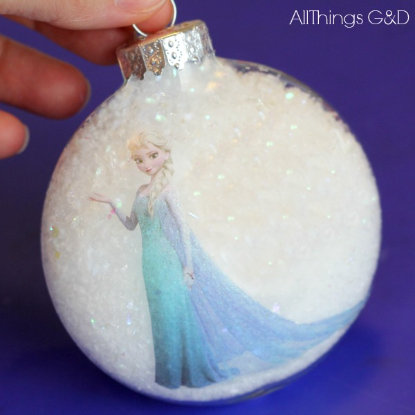 how to make princess elsa ornament christmas decorations crafts seasonal holiday decor - Elsa Christmas Decoration