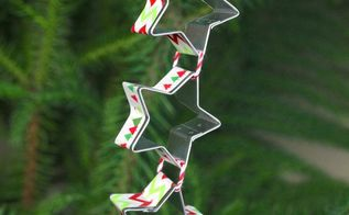 star cookie cutters ornament, christmas decorations, crafts, seasonal holiday decor