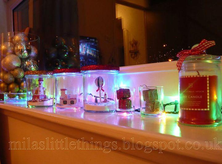how to make christmas jars, christmas decorations, crafts, mason jars, seasonal holiday decor