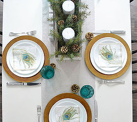 a teal green vintage inspired christmas home tour home decor