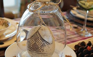 diy cabinet knob cloche made with dollar tree vase, crafts, home decor, repurposing upcycling