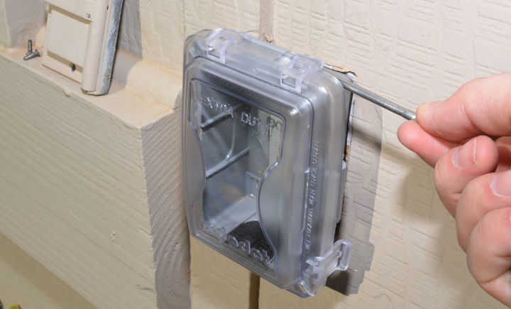 install a new outdoor outlet cover for electrical safety hometalk