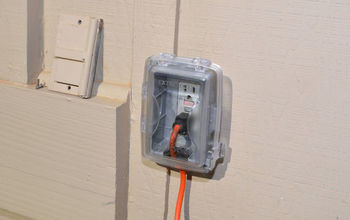 install a new outdoor outlet cover for electrical safety, electrical, home maintenance repairs