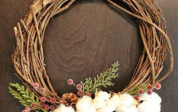 Easy Cotton Wreaths