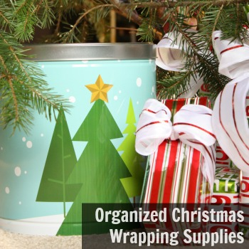 how to organize christmas wrapping supplies christmas decorations organizing seasonal holiday decor