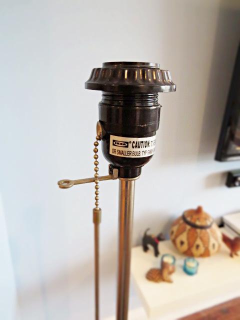 how to dress up an ikea lamp shade, diy, electrical, home decor, lighting