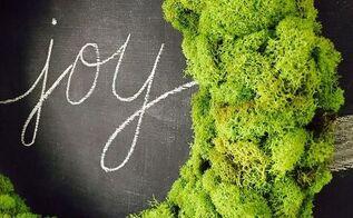 how to make a reindeer moss wreath, crafts, wreaths