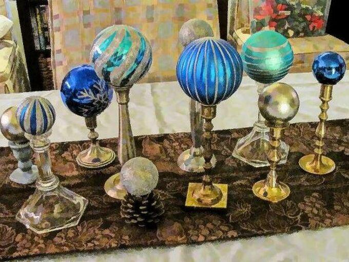 thrifty holiday table decor, christmas decorations, repurposing upcycling, seasonal holiday decor