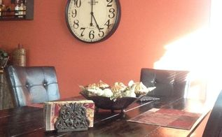 office table transformed to farm table, painted furniture, woodworking projects