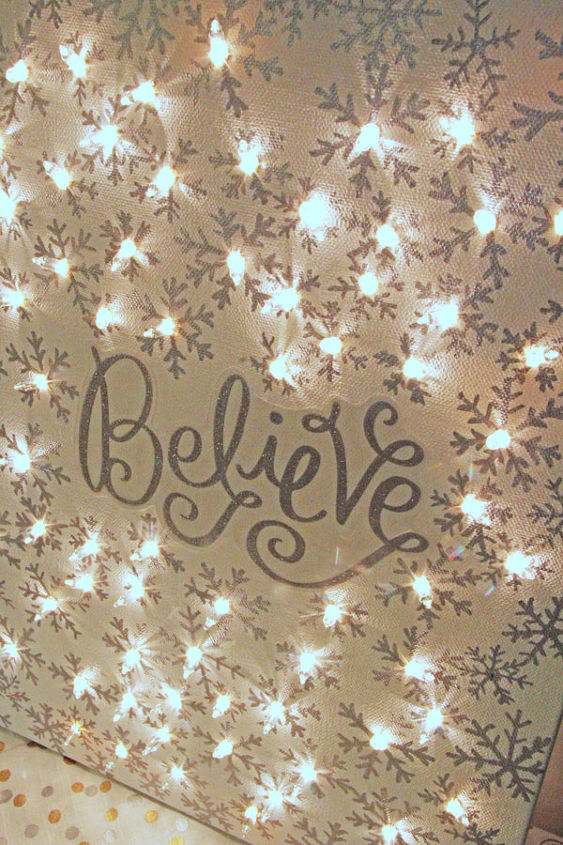 How to make a lighted christmas canvas hometalk how to make a lighted christmas canvas christmas decorations crafts fireplaces mantels solutioingenieria Choice Image
