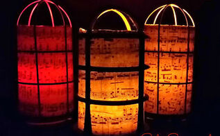 how to make a salvaged industrial light cage luminaria, crafts, lighting, repurposing upcycling