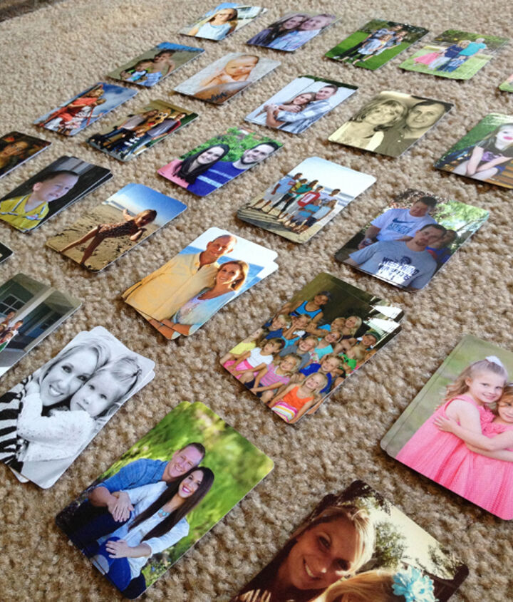 how to make a customized photo card game for kids, crafts