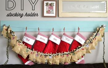 Easy Stocking Holder and Photo Display