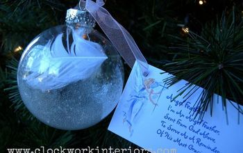 Create an Angel Feather Ornament
