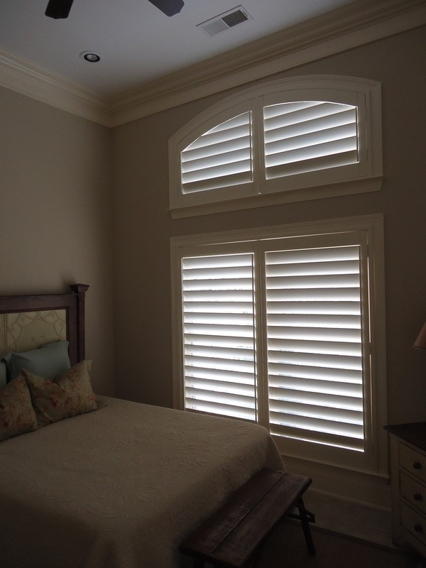 guide on how to install custom plantation shutters on a large window, curb appeal, how to