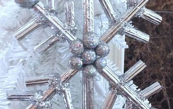 Corrugated Paper Snowflakes DIY
