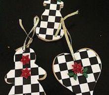 mackenzie childs heart holiday ornament idea, christmas decorations, crafts, seasonal holiday decor