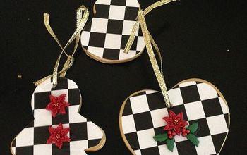 DIY Holiday Christmas Ornaments - Mackenzie-Childs Look-a-Like