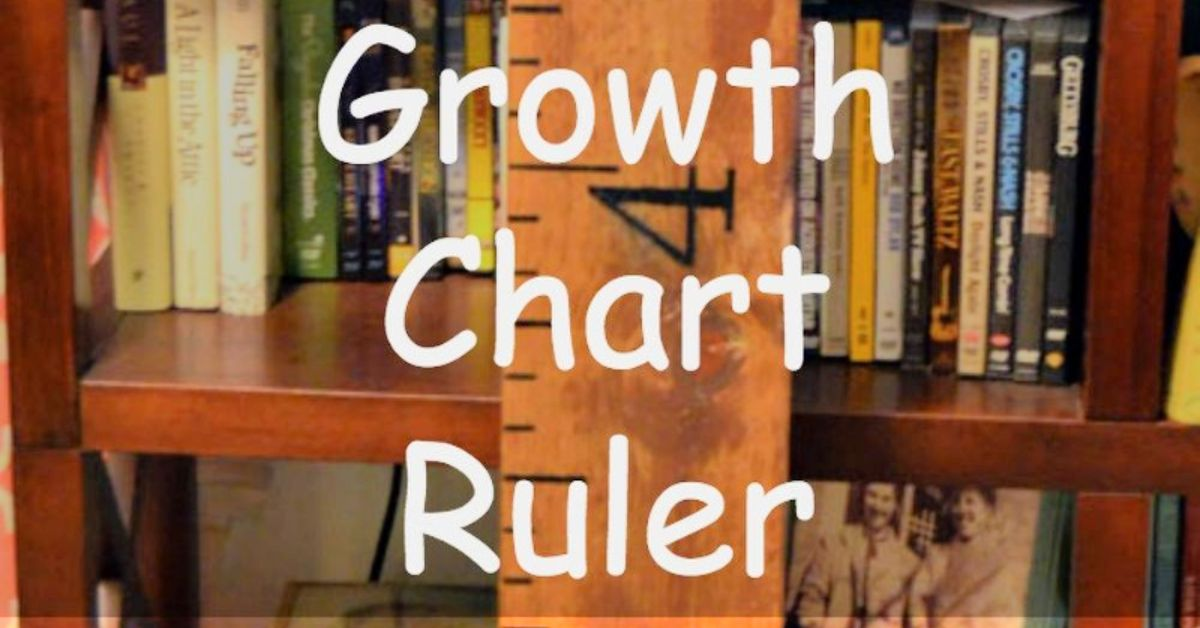 How To Make A Giant Growth Chart Ruler Wooden Wall Decor Sign Hometalk
