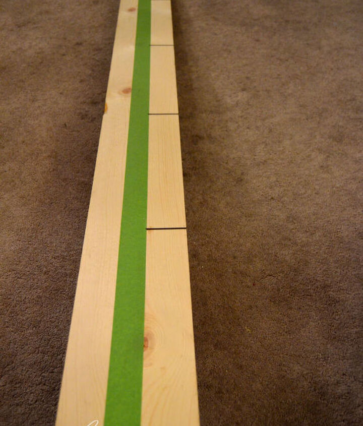 how to make a giant growth chart ruler wooden wall decor, crafts, woodworking projects