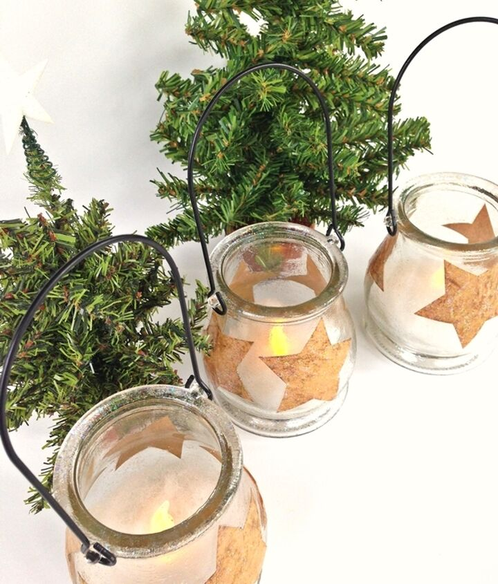 holiday star luminary craft, christmas decorations, crafts, seasonal holiday decor