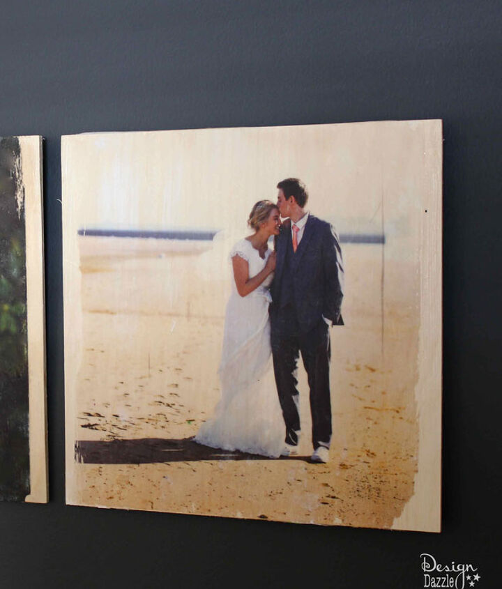 transferring photos onto wood as a gift idea, crafts, how to