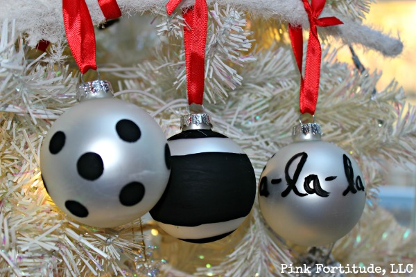 kate spade inspired christmas ornament how to christmas decorations crafts seasonal holiday decor