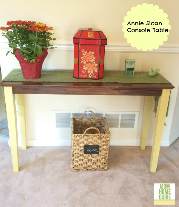 How To Use Annie Sloan Chalk Paint Fix A Console Table