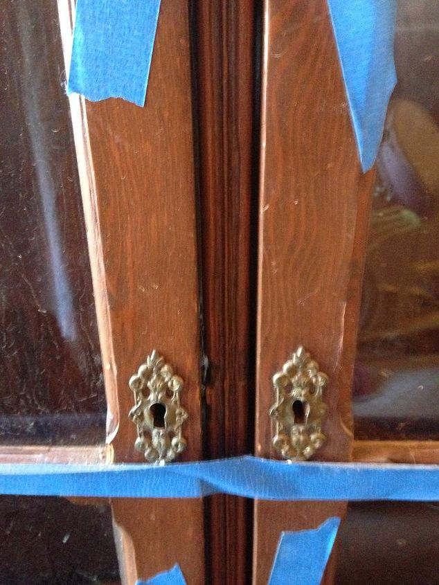old wood china hutch how to update it interestingly, diy, how to, painted furniture, repurposing upcycling