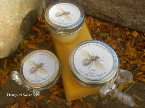 diy honey almond hand creme diygifts, crafts, seasonal holiday decor