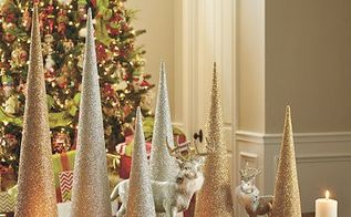 how to make glass beaded trees, christmas decorations, crafts, how to, seasonal holiday decor