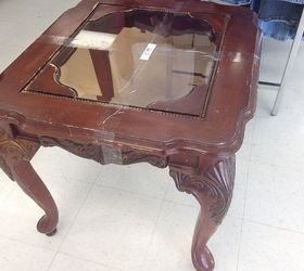 Ideas for glass top end tables with the result Hometalk