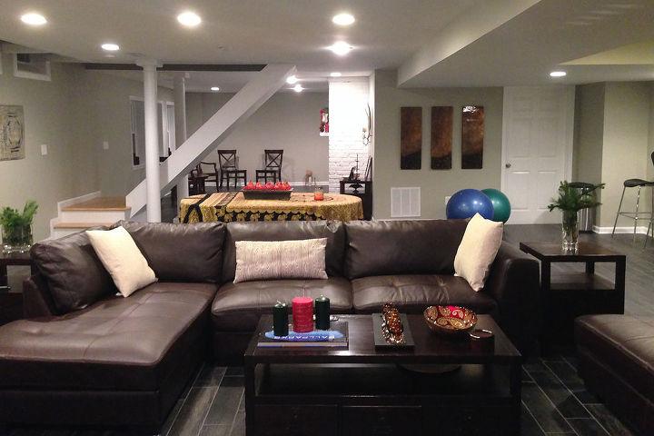 montrose basement remodel, basement ideas, home improvement, tile flooring