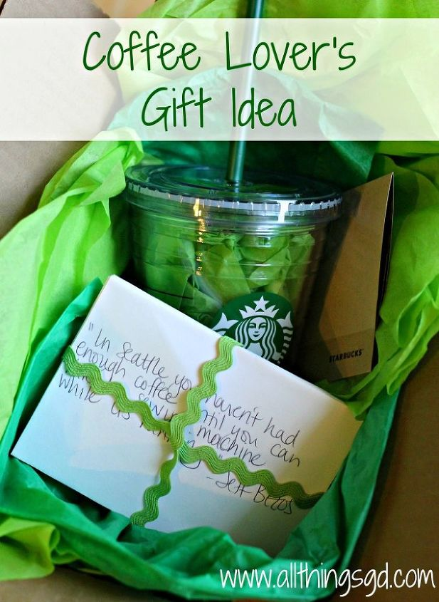 coffee lover s gift idea, crafts