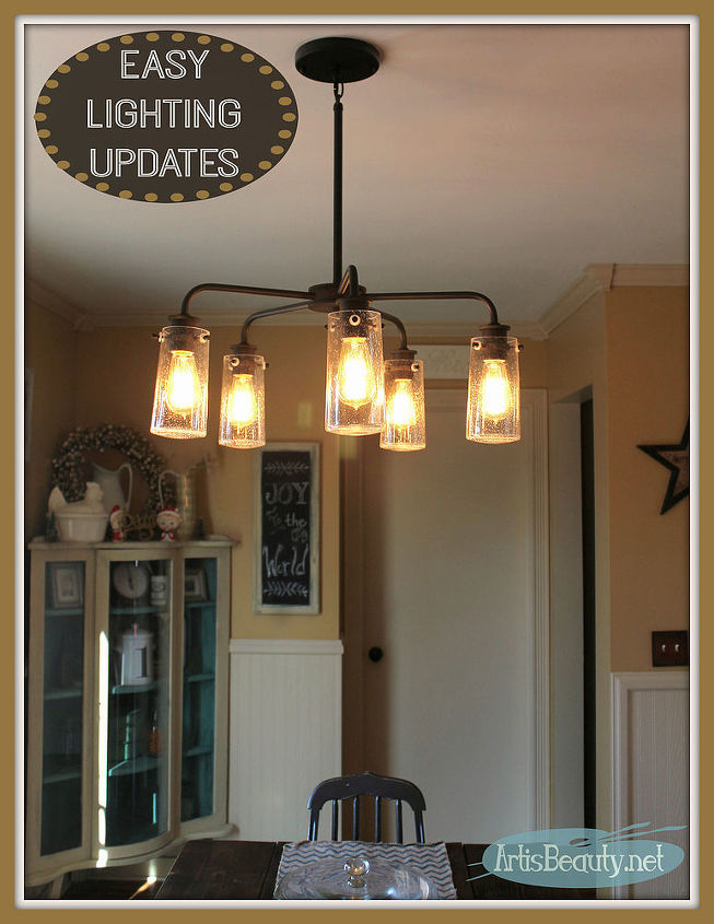 Vintage Style Kitchen Lighting Update Buh Bye Boob Light Light - Update kitchen lighting