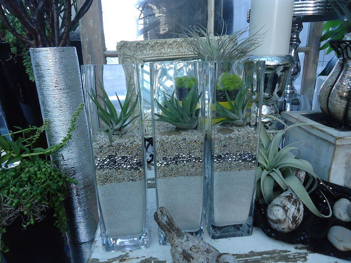 love these terrarium ideas, gardening, terrarium