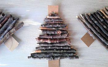 Twig Christmas Tree Ornaments