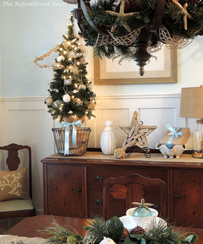 going coastal this christmas, christmas decorations, crafts, seasonal holiday decor