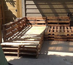 Genial Outdoor Pallet Sectional, Diy, Outdoor Furniture, Outdoor Living, Pallet,  Reupholster,