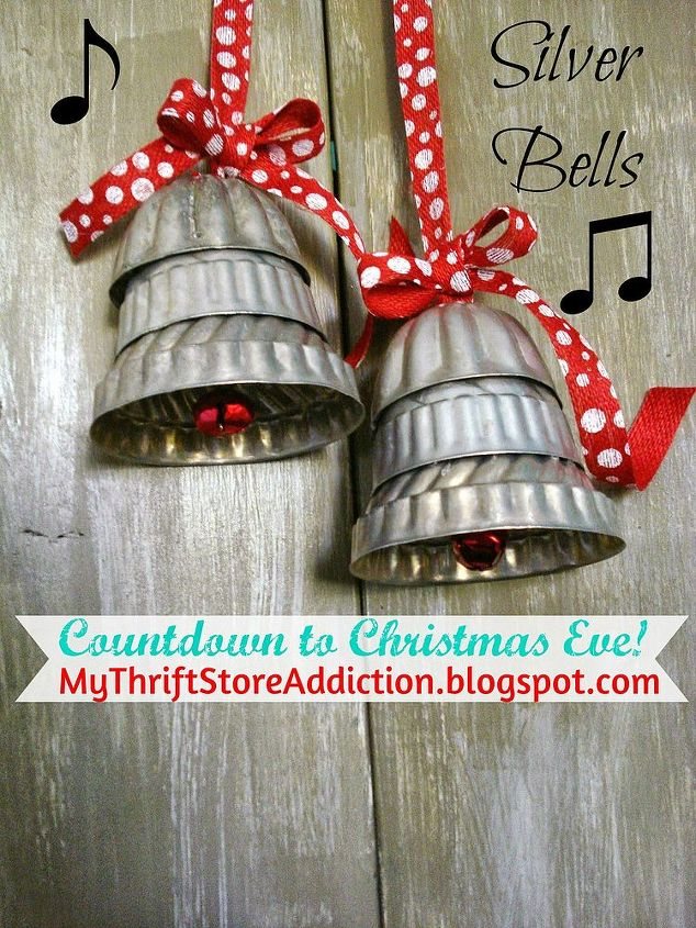 Repurposed Silver Bells Hometalk Classy Silver Bells Decorations
