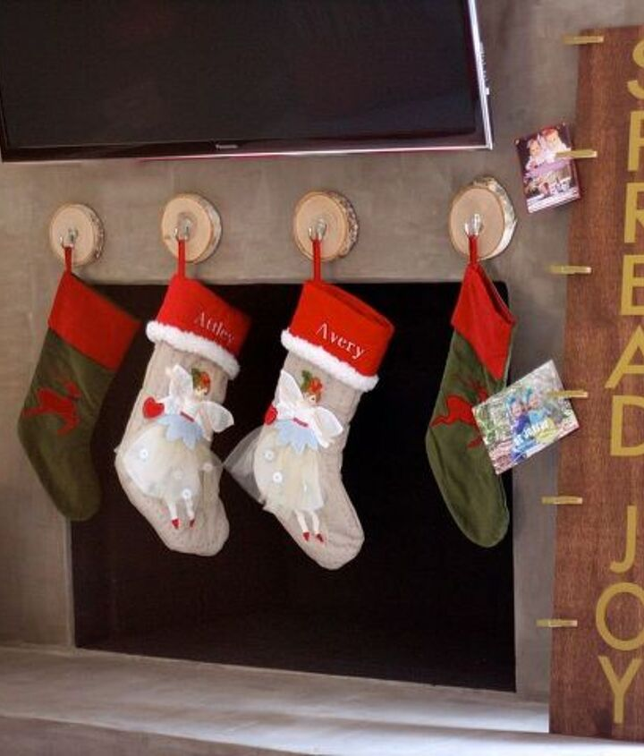 how to make a wood christmas card holder from, christmas decorations, crafts, fireplaces mantels, woodworking projects