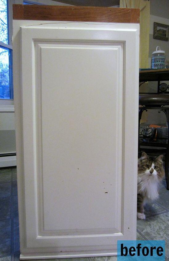 Repurposed Furniture Kitchen Upper Cabinet To Stylish