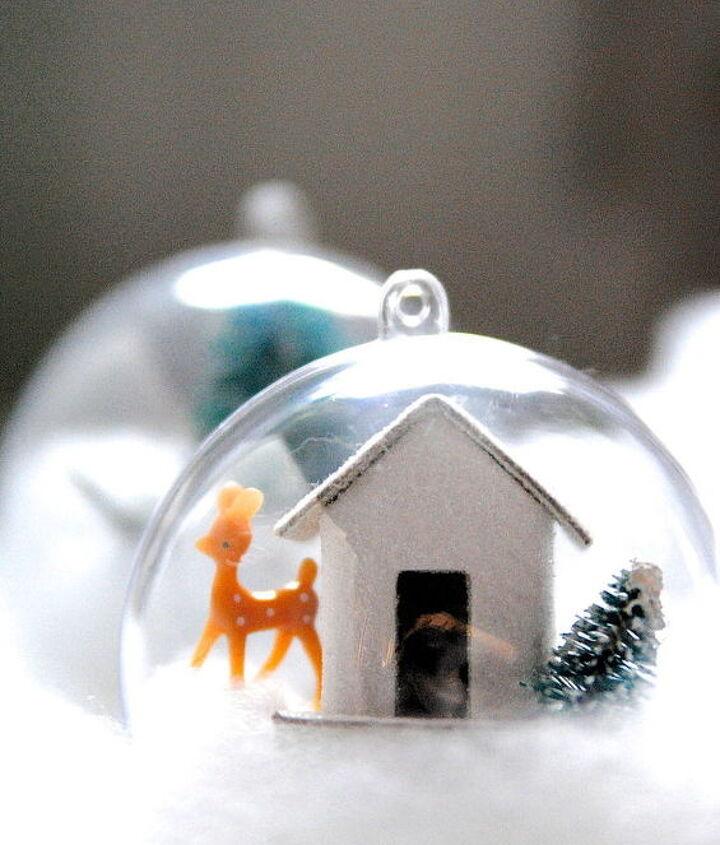 diy whimsical woodland ornaments, christmas decorations, crafts, repurposing upcycling, seasonal holiday decor